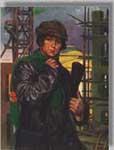 Н.И. Шестопалов.  Женщина-инженер. 1930